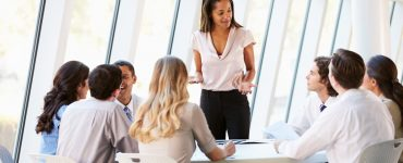 Woman Confident Leader Work