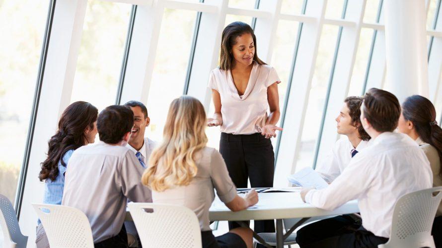 Woman Confident Leader Work
