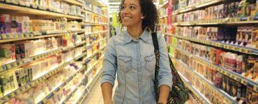 Woman Shopping Social Impact