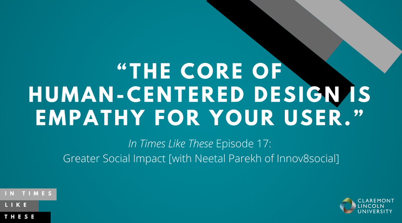 Greater Social Impact [with Neetal Parekh of Innov8social]